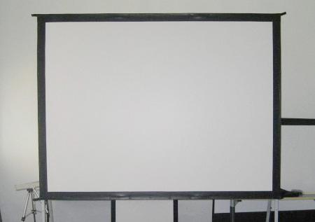 高清流明投影机幕布 200寸